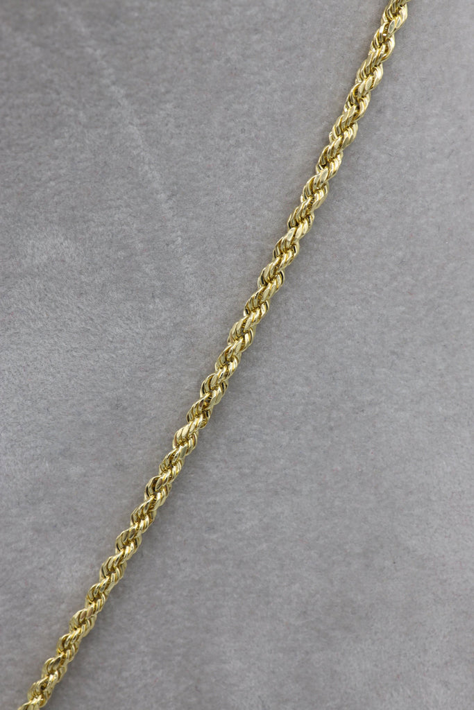 *NEW* 14k Hollow Rope Chain W/ Grenade Pendant Included  JTJ™ - Javierthejewelernyc