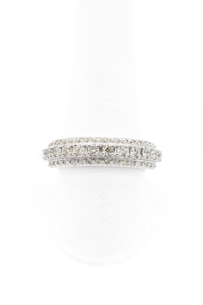 14K Men's Eternity Diamond Ring JTJ™ - Javierthejewelernyc