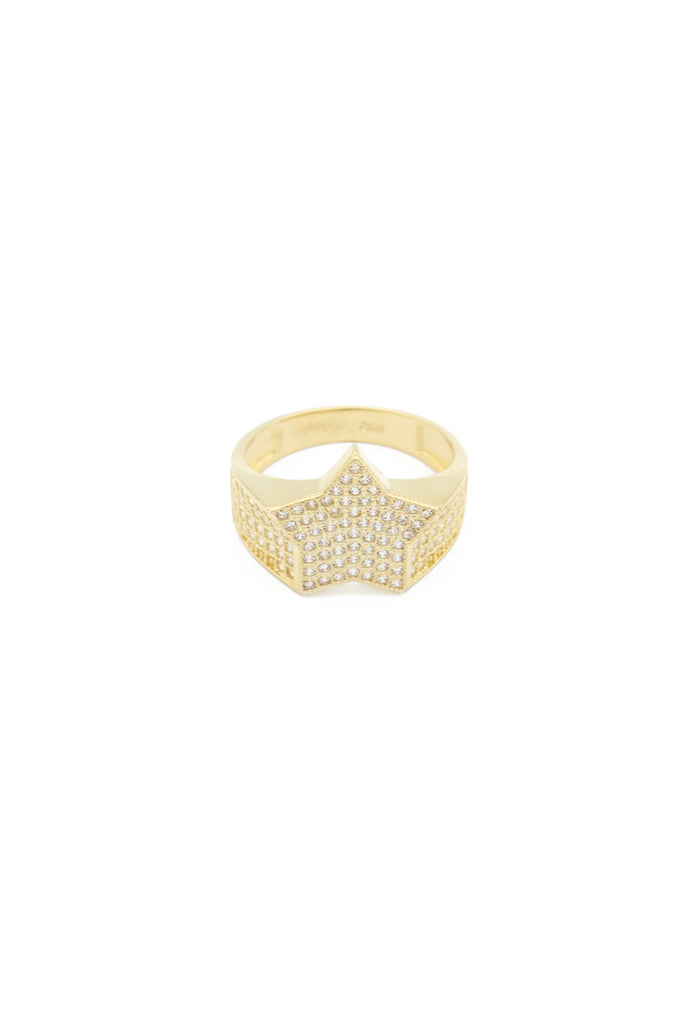 *NEW* 14k Men's Ring (Small Single Star)-JTJ™ - Javierthejeweler