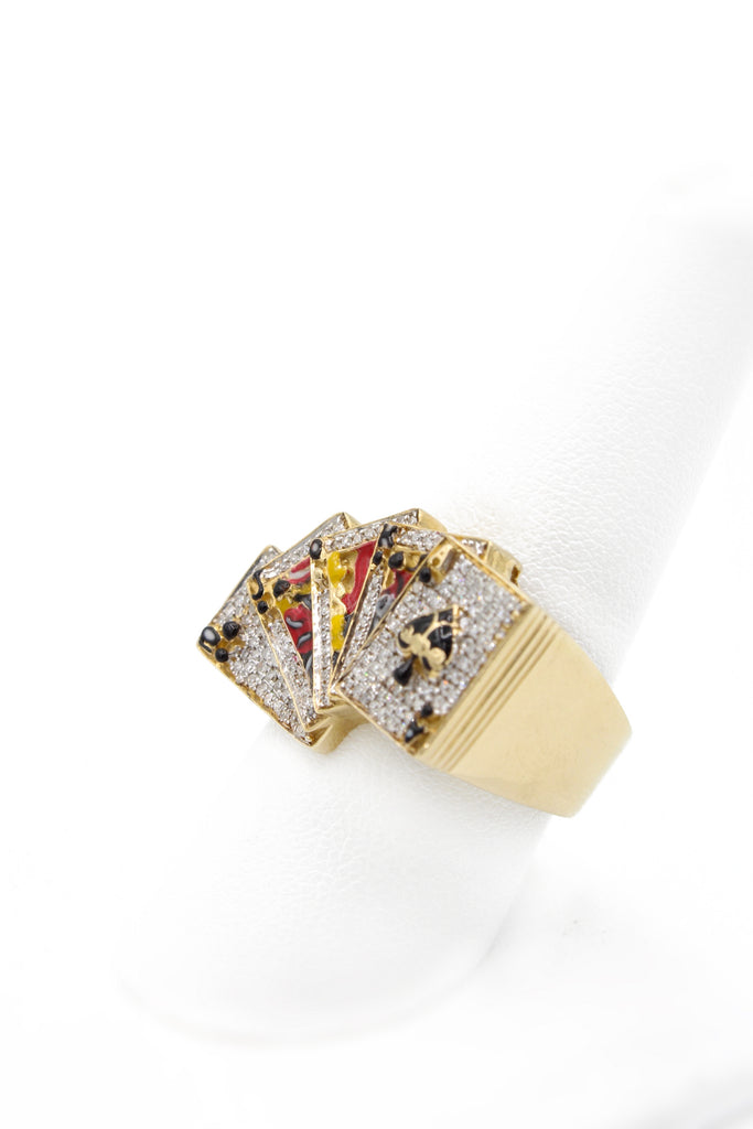 14K Royal Flush Diamond Ring JTJ™ - Javierthejewelernyc