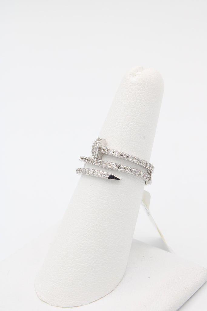 14K Diamonds Nail Ring JTJ™ - - Javierthejewelernyc