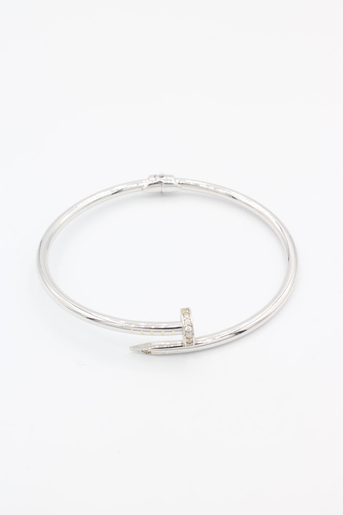 14K Nail Bracelet Cartier Alternative Small - JTJ™ - Javierthejewelernyc