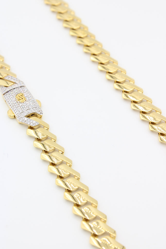 *NEW* 14K Monaco Hollow Chain (EDGE) JTJ™- - Javierthejewelernyc