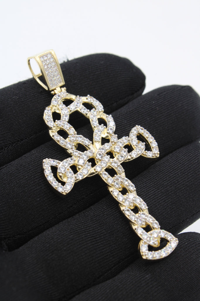 *NEW* 14k Gold Cross (Ankh) Pendant JTJ™ - Javierthejewelernyc