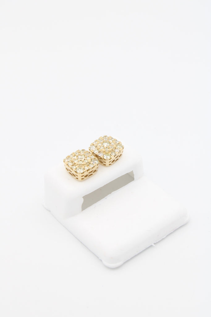 *NEW* 14k 💎Diamonds Stud Earrings M JTJ™  - - Javierthejewelernyc