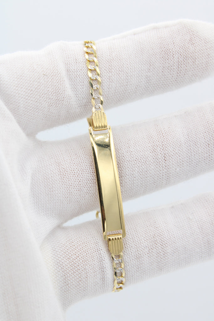14K Baby Bracelet For Engraving JTJ™ - Javierthejewelernyc