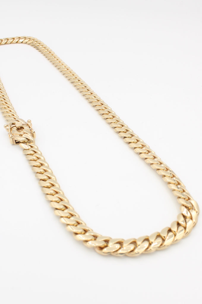 14k Men's Cuban Chain JTJ™ - - Javierthejewelernyc