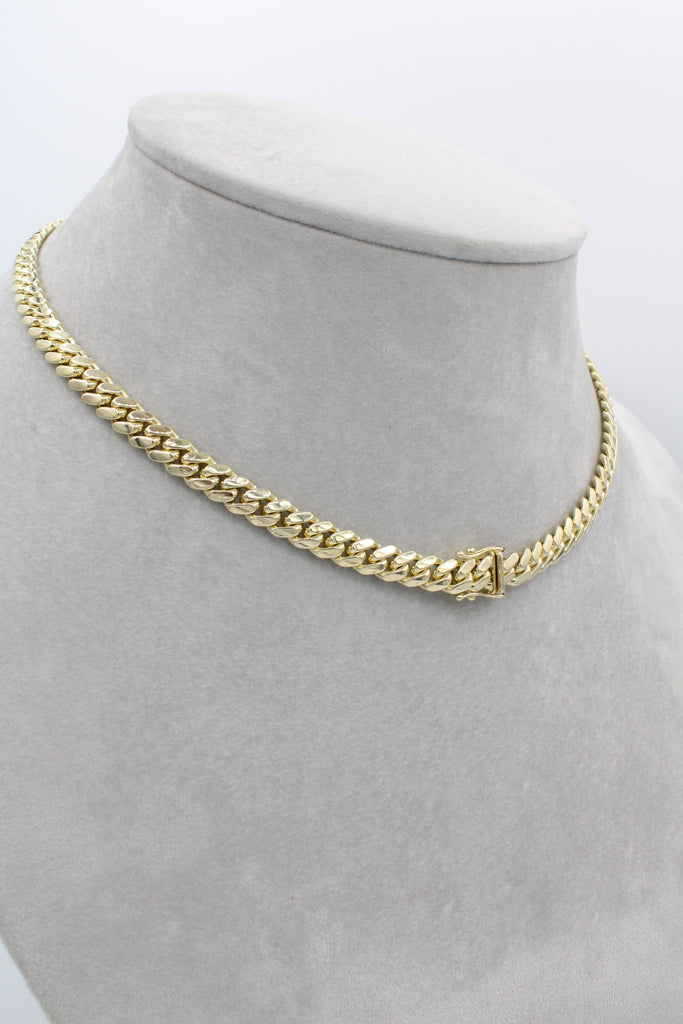 14K Choker Solid Miami For Woman's  JTJ™ - Javierthejewelernyc