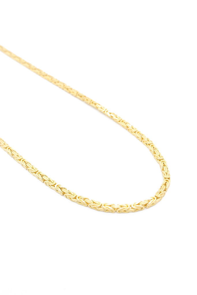 *NEW* 14K Byzantine Chain W/ Cross Pendant JTJ™- - Javierthejewelernyc