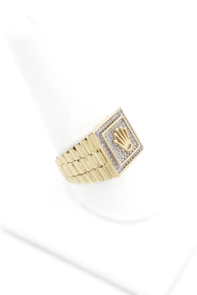 *NEW* 14k Rolex Men's Ring JTJ™ - Javierthejeweler