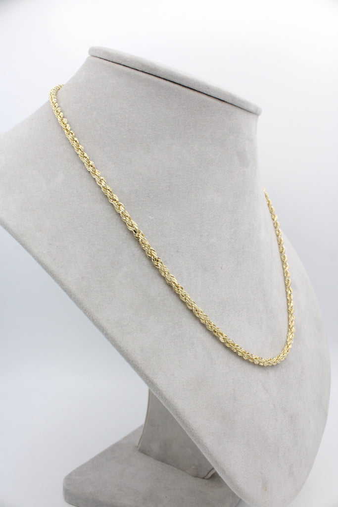 14K Hollow Rope Chain JTJ™ - Javierthejewelernyc