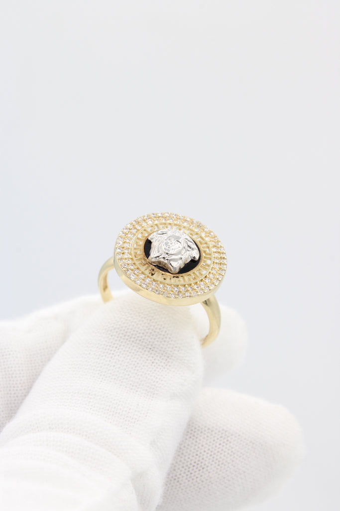 *NEW* 14K Versace Woman's Ring JTJ™ - - Javierthejewelernyc