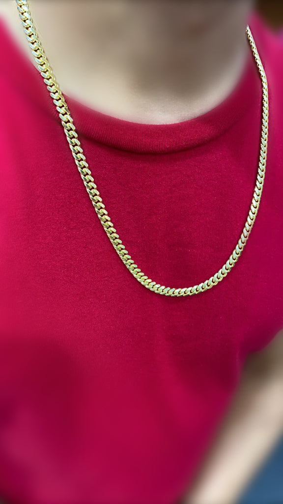 "*NEW* 14k Solid Cuban Chain (22"" Inches//6MM)-JTJ™ - Javierthejeweler"