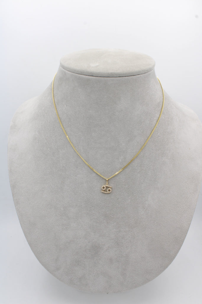 *NEW* 14K Solid Cuban Chain With Zodiac (Signs)-JTJ™ - - Javierthejeweler