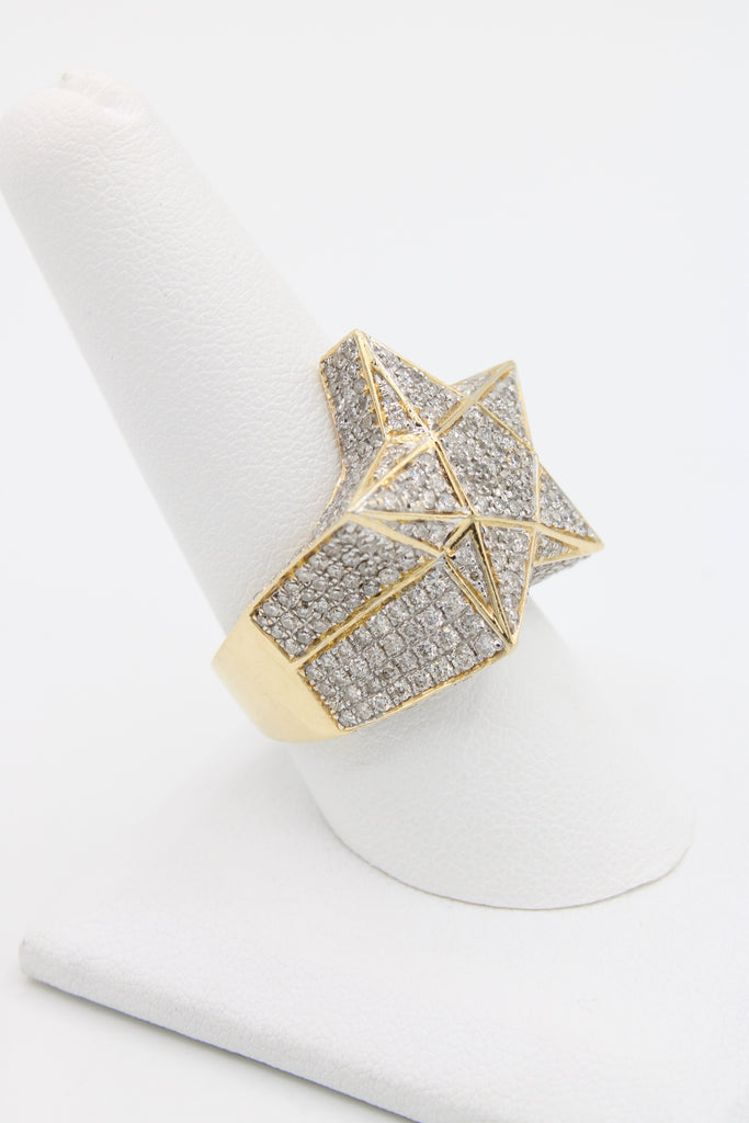 *NEW* 14K Star Diamond Ring JTJ™ - Javierthejewelernyc