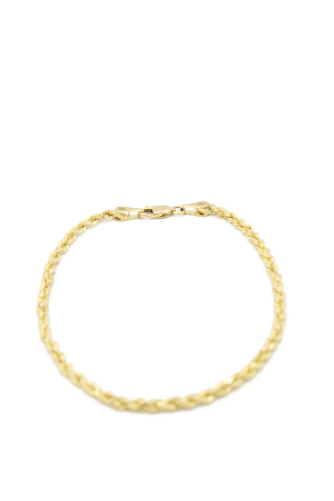 *NEW* 14K Hollow Rope Bracelet JTJ™ - Javierthejewelernyc