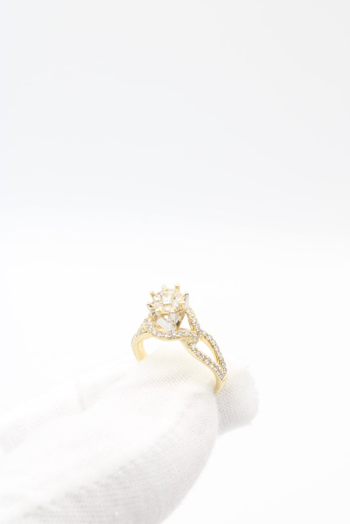 14k Diamond Engagement Ring JTJ™ - Javierthejewelernyc