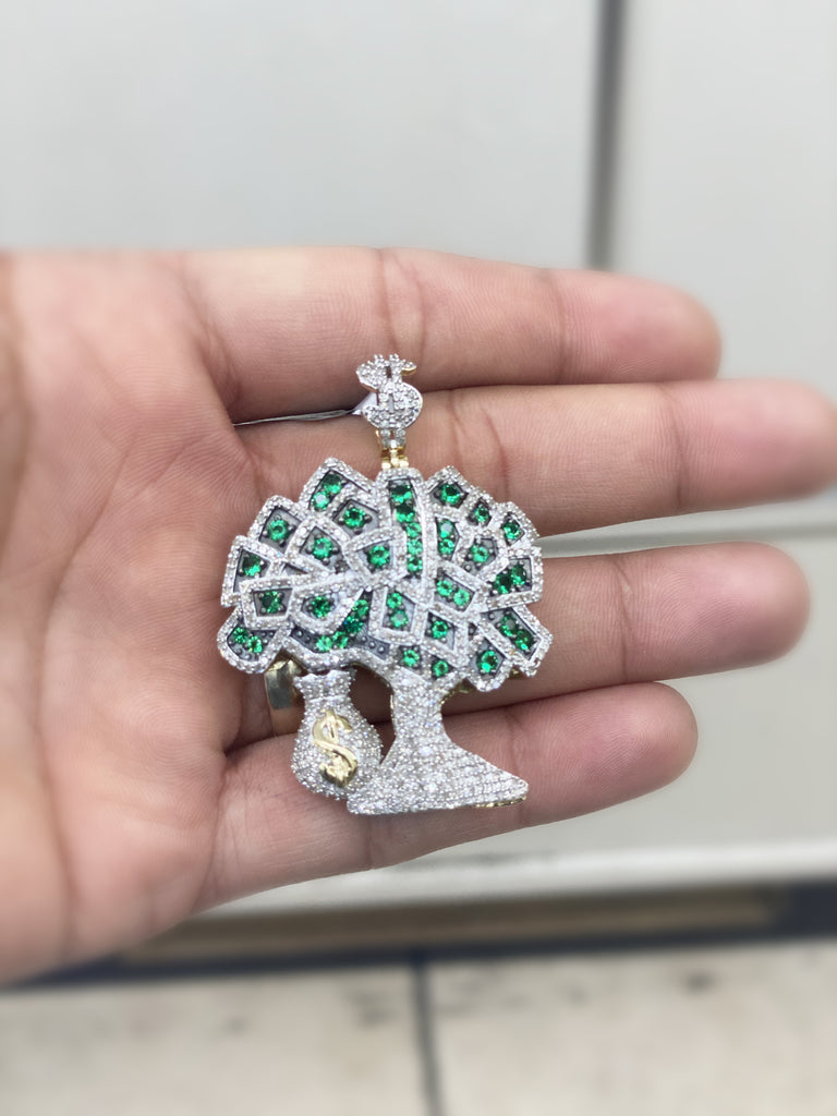 *NEW* 14K Money Tree 💎Diamond's Pendant JTJ™ - Javierthejewelernyc