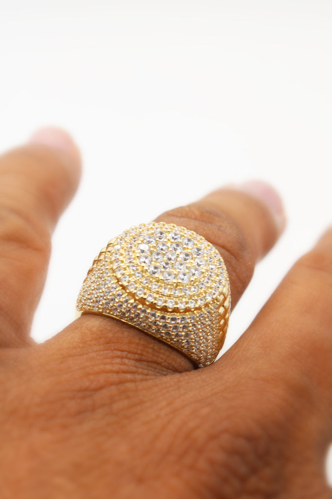 *NEW* 14K Men's Ring (Round) JTJ™ - - Javierthejewelernyc