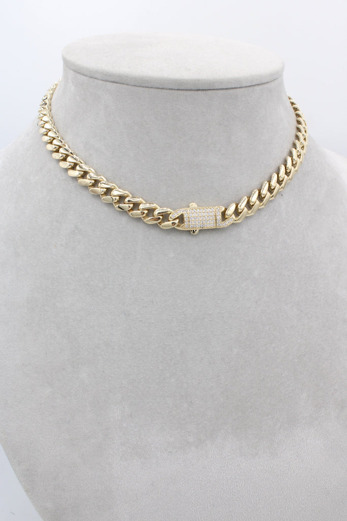 14K Hollow Choker For Women J&co™- - Javierthejewelernyc