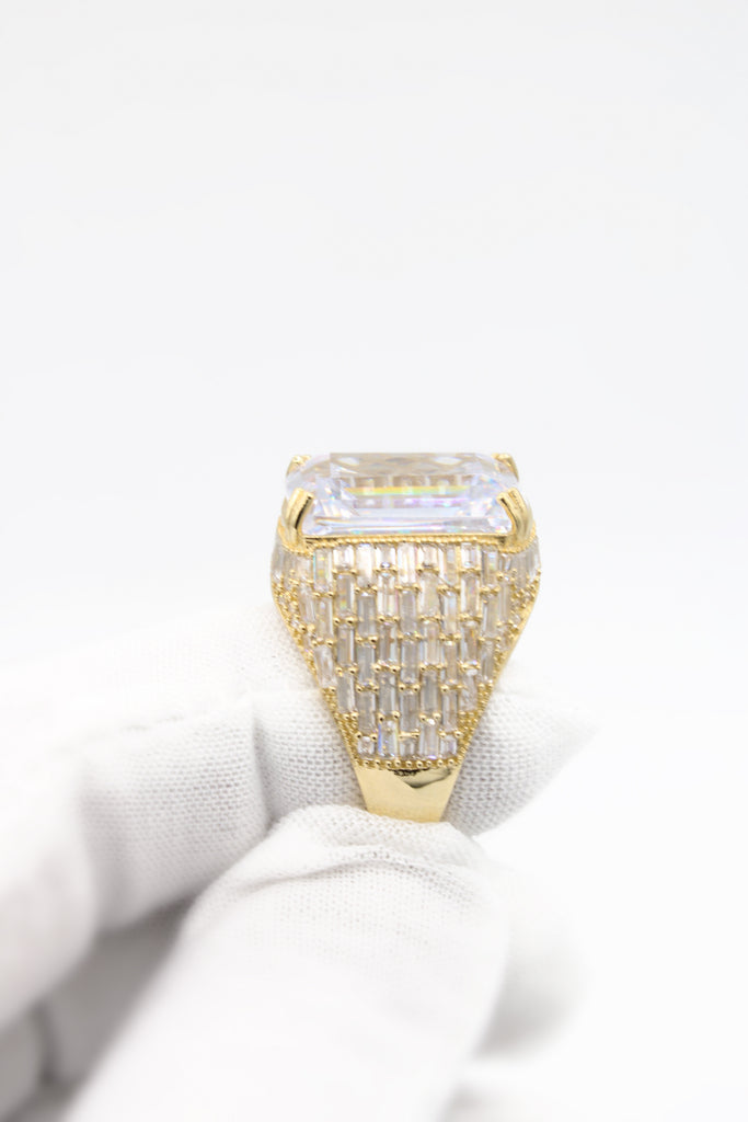 *New* 14k Jumbo Ring RE Baguette JTJ™ - Javierthejewelernyc