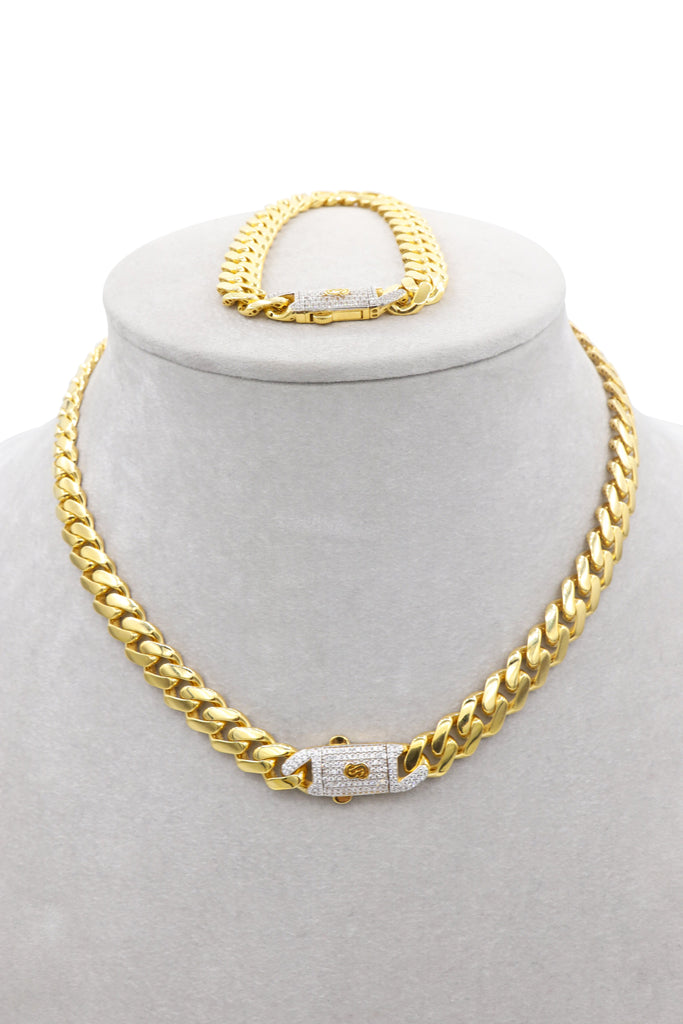 *NEW* 14k Hollow Monaco Set 14k JTJ™ - - Javierthejeweler