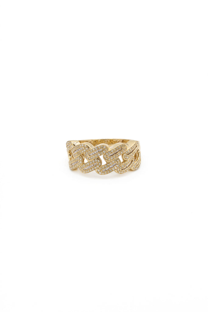 *NEW* 14K Cuban Link Diamond Ring  JTJ™ - Javierthejewelernyc