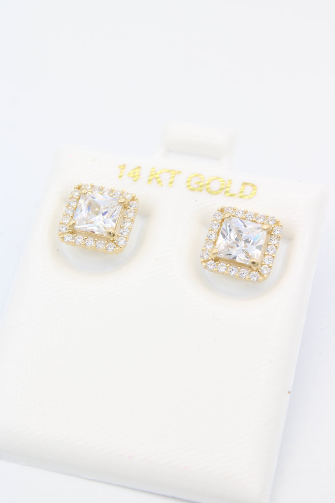 *NEW* 14K Square -Earrings JTJ™ - Javierthejewelernyc