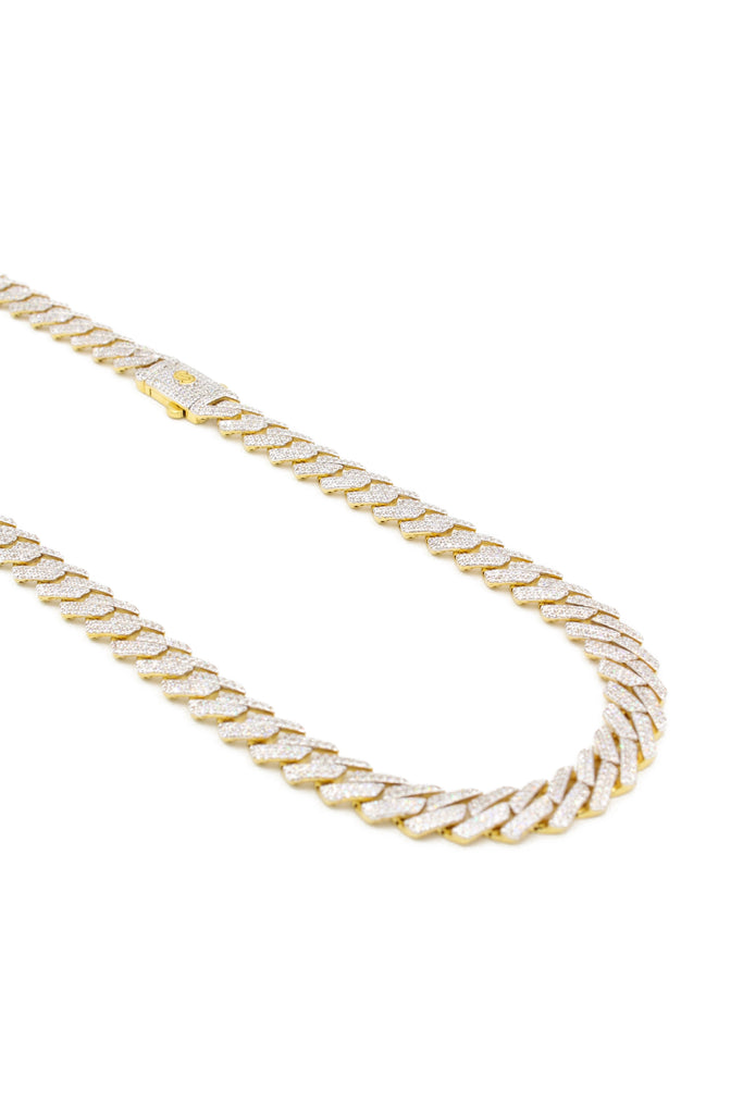 *NEW* 14k Monaco Hollow Choker For Men's (EDGE) JTJ™ - - Javierthejewelernyc