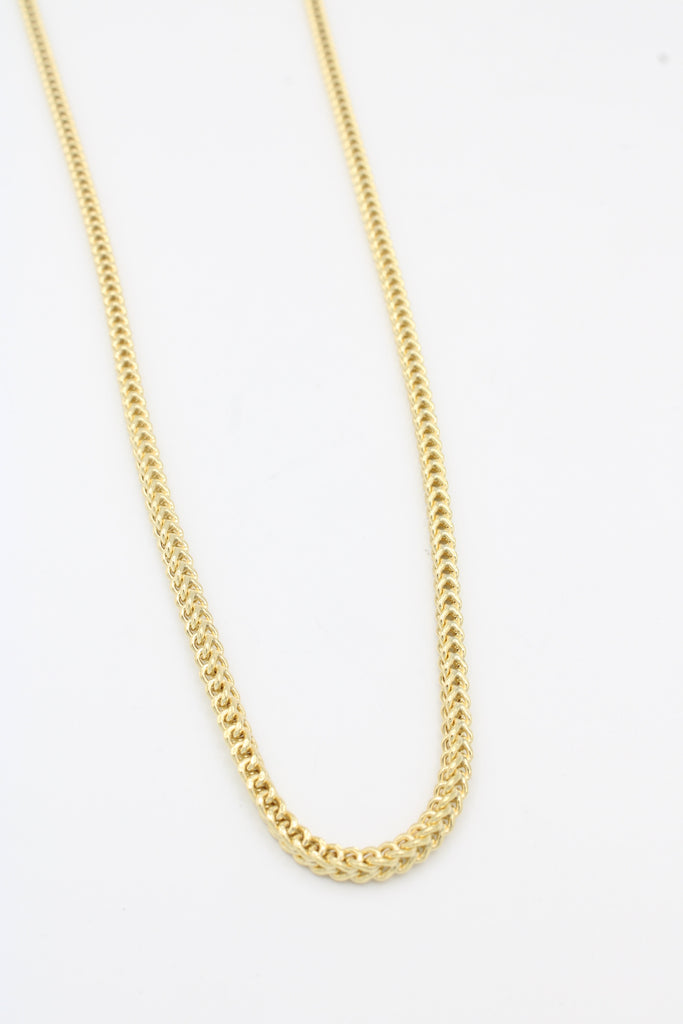 *NEW* 14K Hollow  Franco Chain JTJ™- - Javierthejeweler