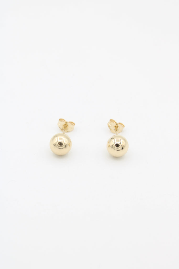 *NEW* 14K  Gold Sphere Earrings JTJ™ - Javierthejewelernyc