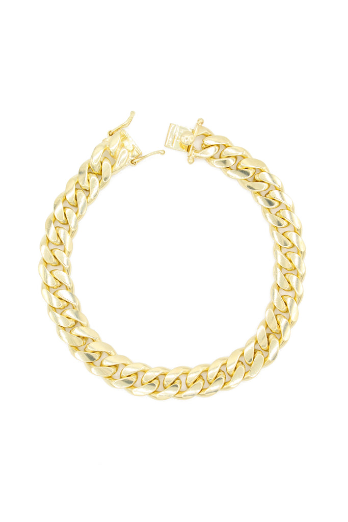 *NEW* 14K Solid Cuban Bracelet (10.7MM) -JTJ™- - Javierthejeweler