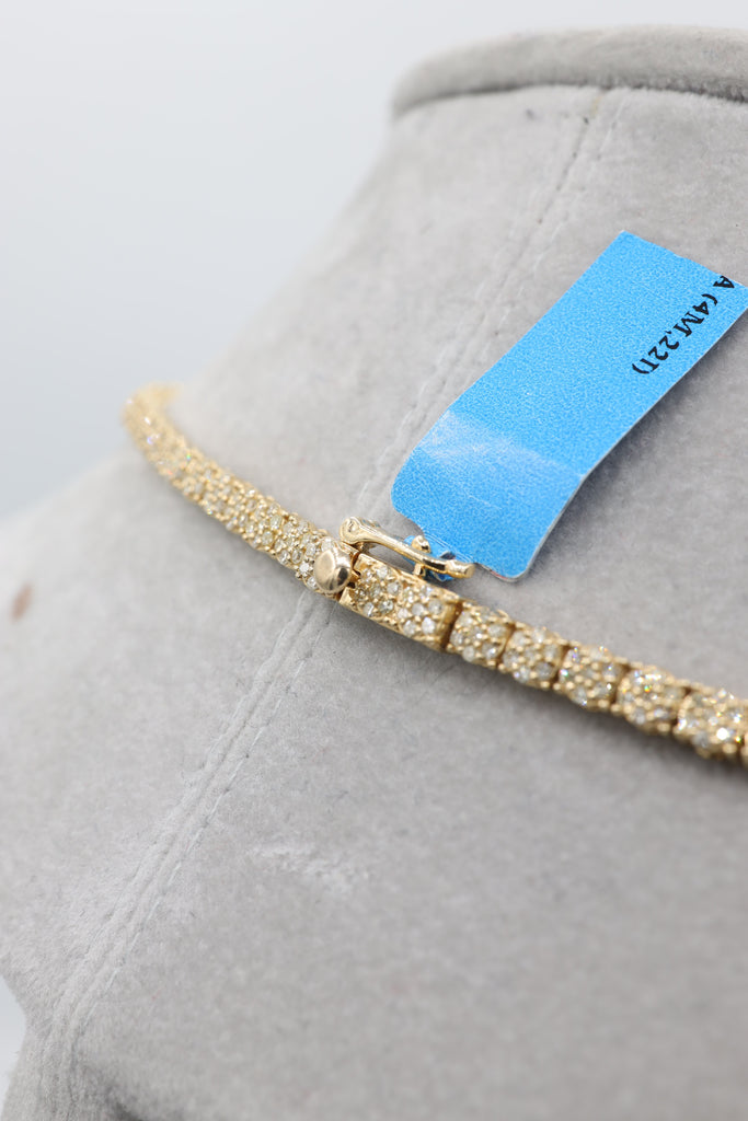 *NEW* 14K Diamond 💎 Tennis Chain JTJ™ - Javierthejewelernyc