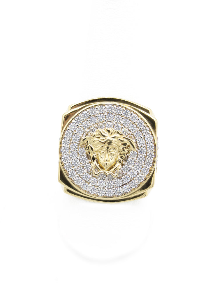 *NEW* 14k Versace  Men's Ring JTJ™ - Javierthejeweler