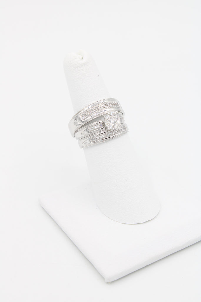 *NEW* 14K White Engagement Diamond Ring Set 💍JTJ™ - Javierthejewelernyc