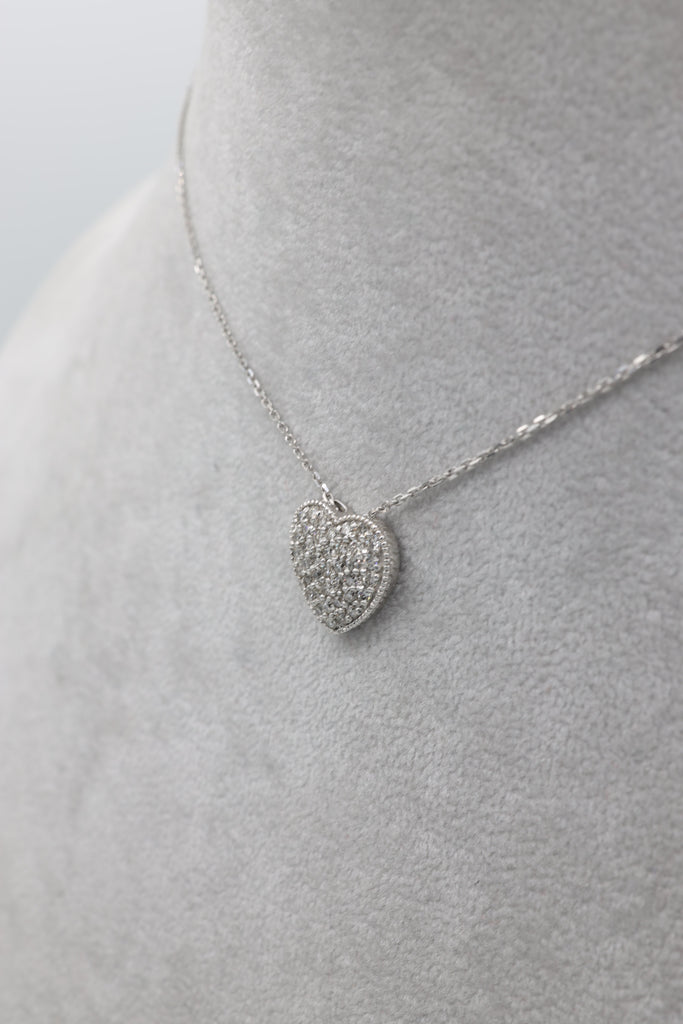 *NEW*14k  Diamond Heart Necklace By JTJ™ - Javierthejewelernyc