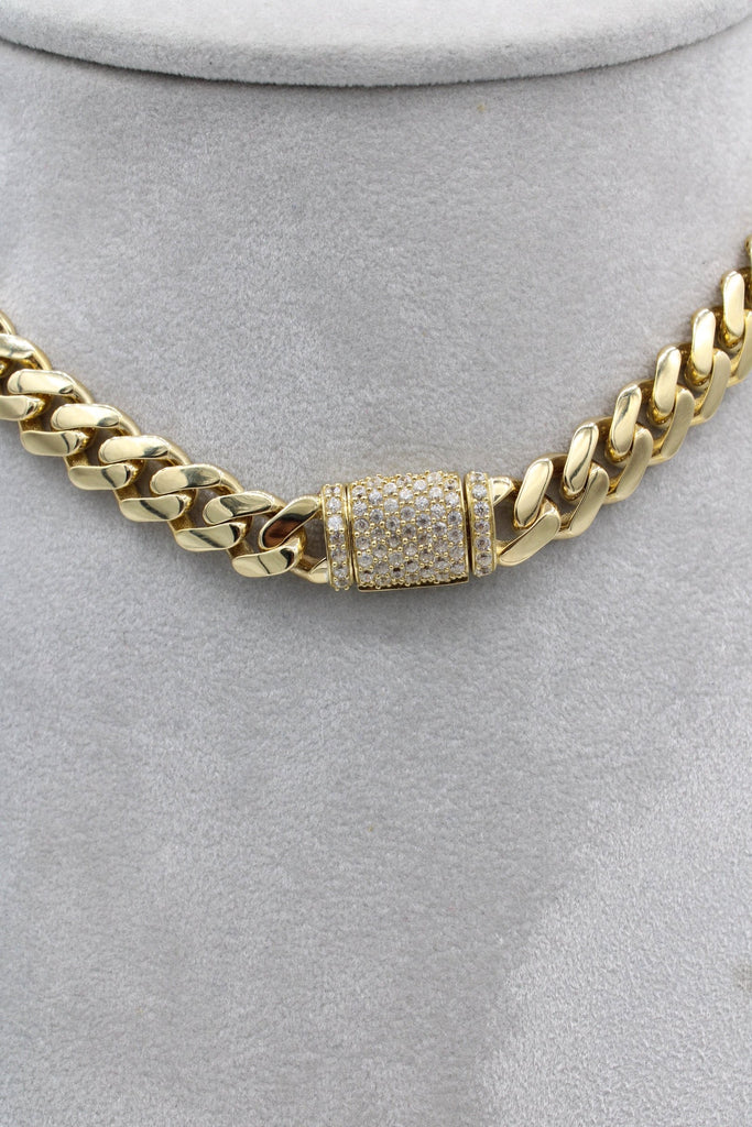 *NEW* 14K Hollow Choker (cz Lock) JTJ™ - - Javierthejewelernyc