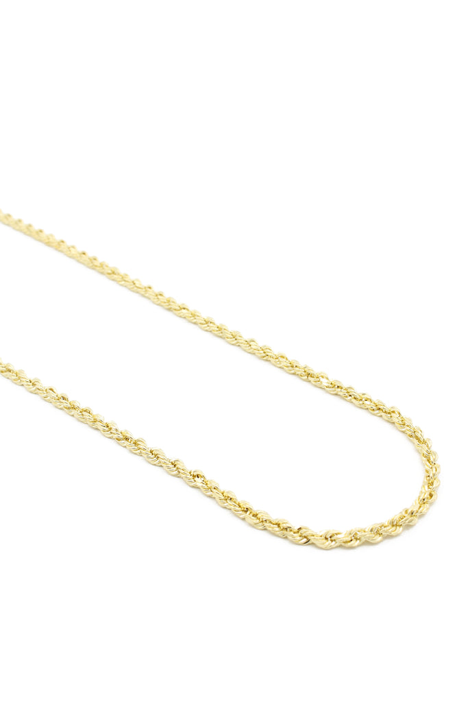 "*NEW* Hollow Rope Chain (20"" Inches 3.9MM)- JTJ™ - Javierthejeweler"