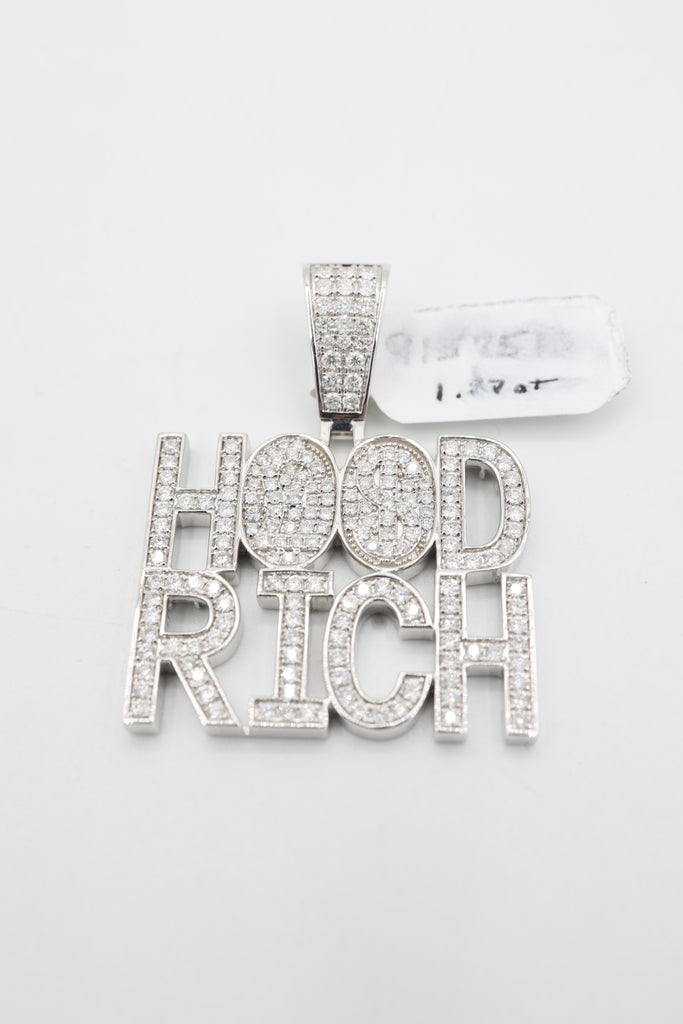 *NEW* 14K Hood Rich Diamond 💎 Pendant JTJ™ - Javierthejewelernyc