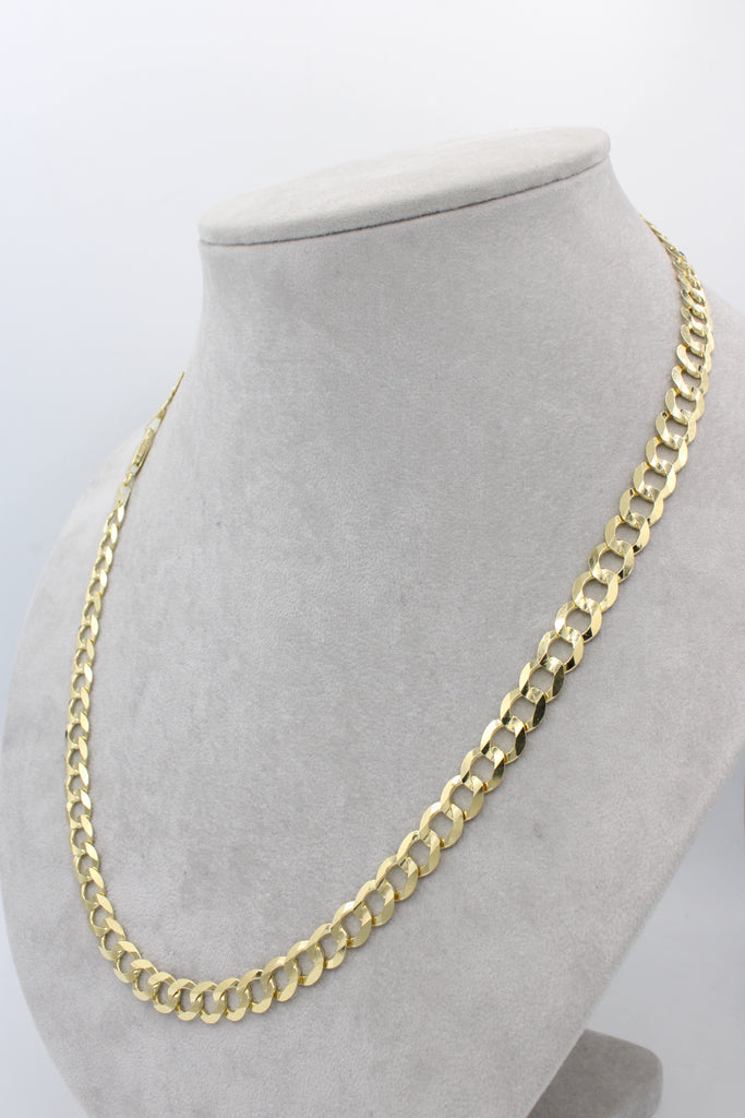*NEW* 14k Solid Cuban Chain (Curb) JTJ™ - Javierthejewelernyc