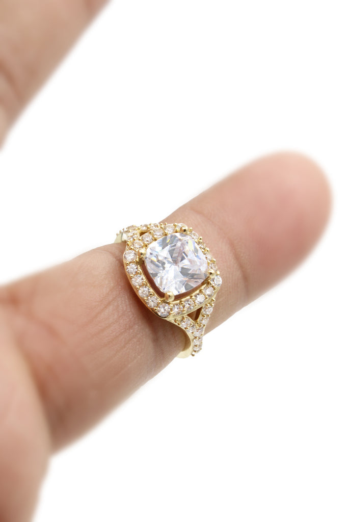 *NEW*14k Engagement Ring (CZ Stones)-JTJ™ - Javierthejeweler