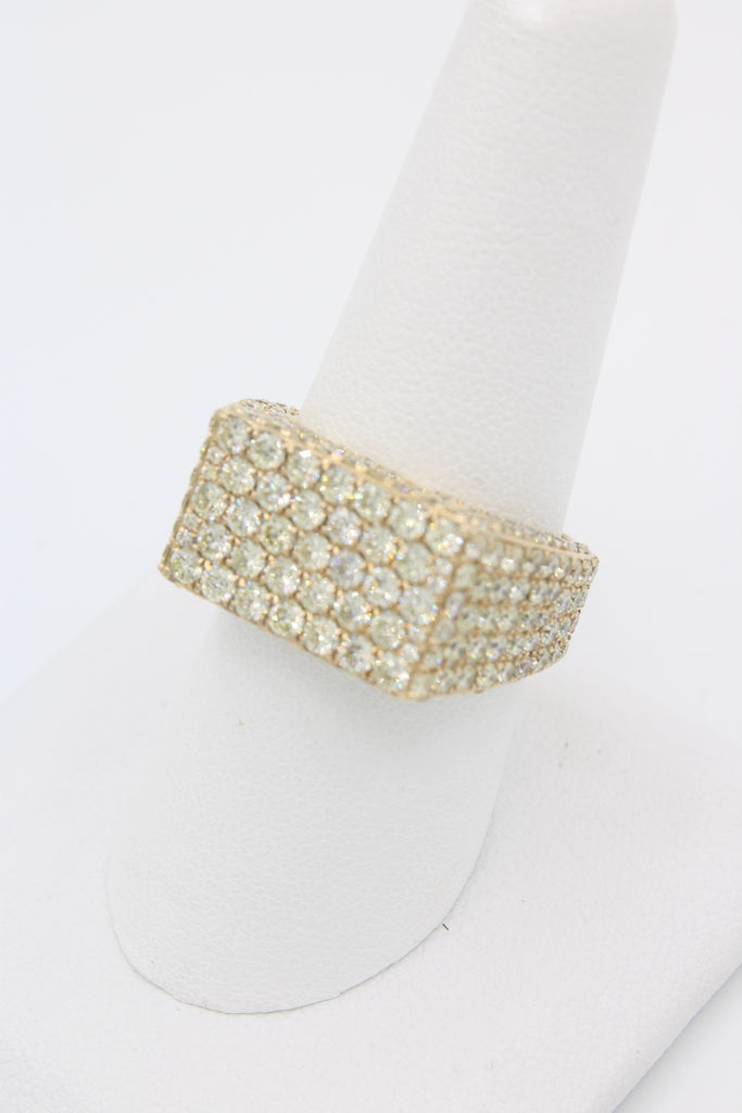 14K Diamonds Men's Ring JTJ™ - Javierthejewelernyc
