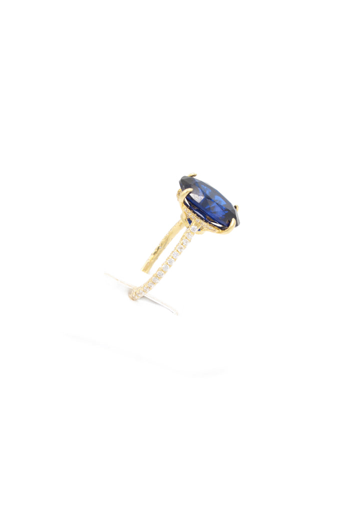 *NEW* 14K CZ Woman's Ring Blue (Sept) - JTJ™ - Javierthejeweler