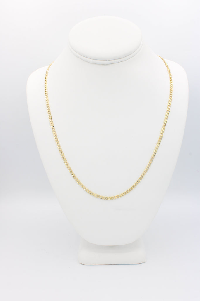 *NEW* 14k Cuban Chain Hollow One Tone JTJ™ - Javierthejeweler