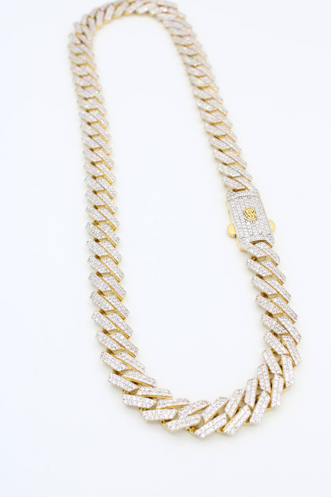 *NEW* 14K Hollow Monaco Choker (EDGE DESIGN )JTJ™- - Javierthejewelernyc