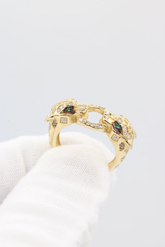 *NEW* 14K Panther Woman's Ring JTJ™ - - Javierthejewelernyc