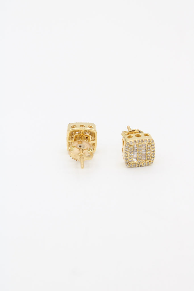 *NEW* 14K 💎Diamond's 💎Earring (Square) JTJ™ - Javierthejewelernyc