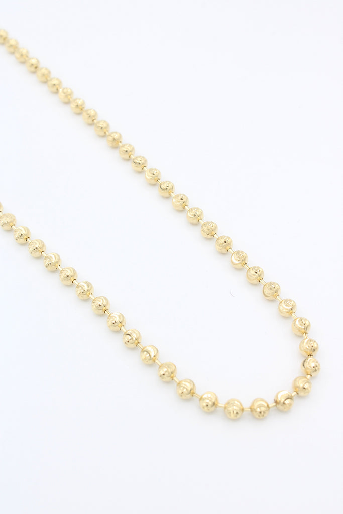 14K Gold Moon Cut Chain JTJ™- - Javierthejewelernyc