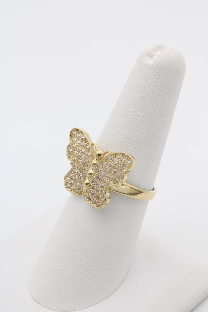 14K Woman's Butterfly Ring JTJ™ - - Javierthejewelernyc
