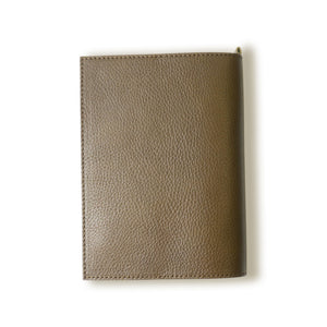 [Japanese Craftsman Made / Antique] Book Cover A6 Genuine leather Italian leather